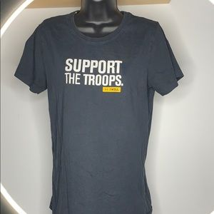 Under Armour Support the Troops Tee